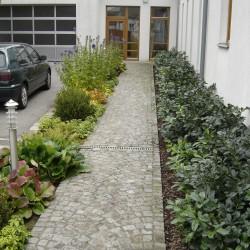 Gartenweg Pflasterung