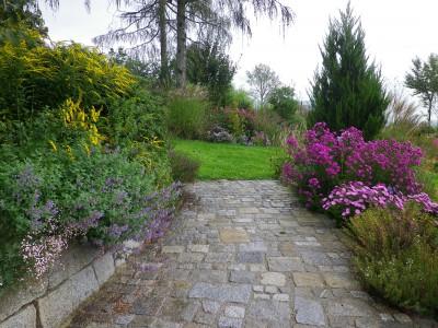 Pflasterungen - Stein im Garten