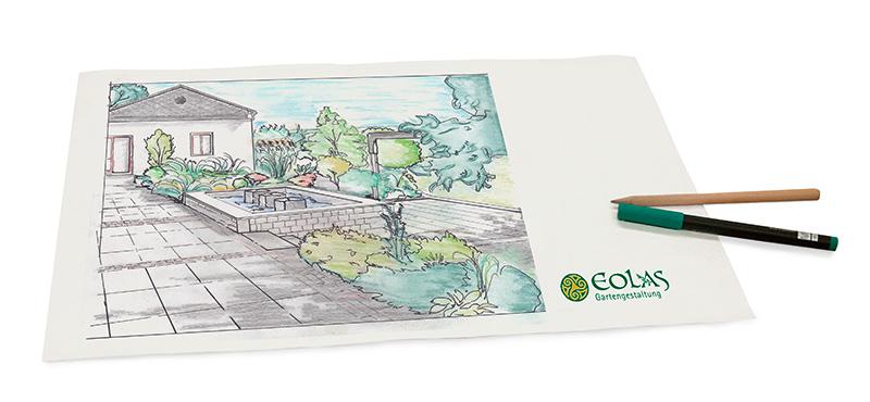 Eolas Gartenarchizektur, Gartenplanung und Beratung