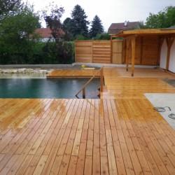 Holz im Garten, Terrasendielen