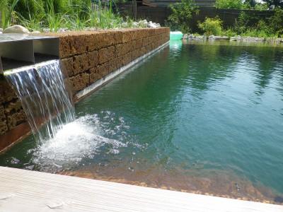 Wasser im Garten, Enns
