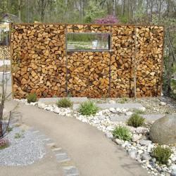 Holzlager Metall