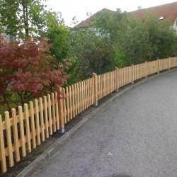 Holzzaun Garten