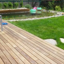 Terrassendielen Thermo Holz