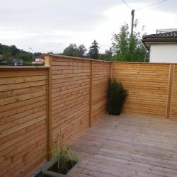 Sichtschutz Holz, Enns