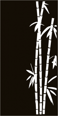 Sichtschutzmotiv Terrasse Bamboo