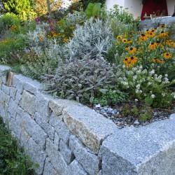 Gartenmauer + Pflanzen OÖ