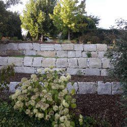 Steinblöcke Granit