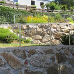 Wurfsteinmauer