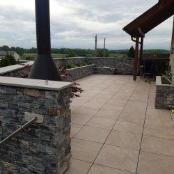 Neugestaltung Terrasse