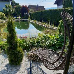 Garten zum relaxen